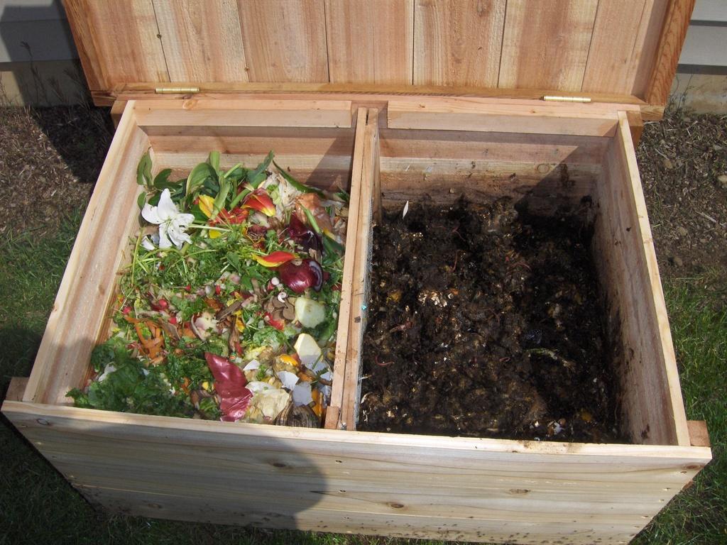 Как сделать на даче компостную